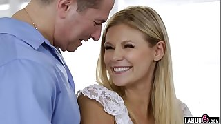 Blonde looking for her real daddy on a sperm donor site