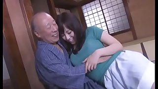 Sexy Azusa Nagasawa has hookup with two lucky old men