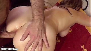 Britney cum-shots on a mouthful of cum shot right down her throat. Amateur Ass-to-Mouth Deepthroat Gagging. Spitters are quitters, but this was an accident! Big boobs anal homemade amateur porn.
