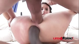 Nelly Kent hardcore DP with 2 monster mild