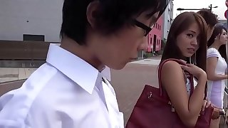Hot Asian Teenage Fucked On The Bus