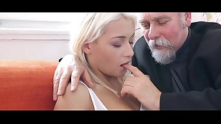 Old men fuck youthful Teenage - New Pussy for them Compilation